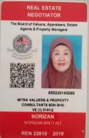 Agent: Norizan Ali