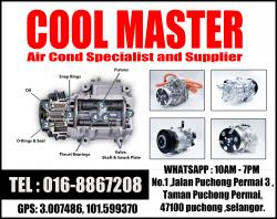 Cool Master Air Cond Specialist and Supplier avatar