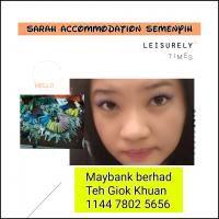 Agent: Sarah Teh Accomodation Semenyih