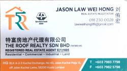 Agent: JASON LAW WEI HONG